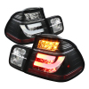 Spyder BMW E46 3-Series 99-01 4Dr Light Bar Style LED Tail Lights Black ALT-YD-BE4699-4D-LBLED-BK