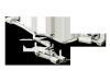 Akrapovic 14-15 Porsche Panamera Turbo (970) Evolution Line Cat Back (Titanium) w/ Titanium Tips