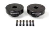 ReadyLift Suspension 07-13 GM/Chevy 1500 2.25in T6 Billet Aluminum Leveling Kit Anodized - Black