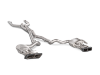 Akrapovic 16-17 AMG C63 Coupe Evolution Line Cat Back (Titanium) w/ Carbon Tips (Req. Link Pipe)