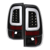 Spyder 97-03 Ford F150 Stylsd. F250/350 V3 Light Bar LED Tail Lights - Blk ALT-YD-FF15097V3-LBLED-BK