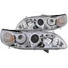 ANZO 1998-2002 Honda Accord Projector Headlights w/ Halo Chrome