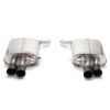 Dinan Free Flow Stainless Steel Exhaust w/ Black Tips -BMW 650i 2015-2012 650i Gran Coupe 2015-2013