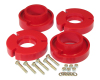 Prothane 04+ Ford F150 Front Coil Spring 2.5in Lift Spacer - Red