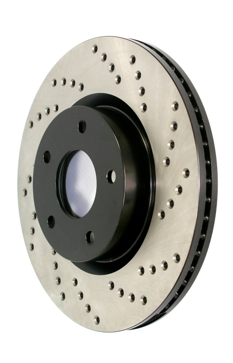 Stoptech Cross Drilled Rotor - HYN, 128.51035L