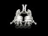 Akrapovic 14-17 Chevrolet Corvette Stingray (C7) Evolution Line Cat Back (Titanium) w/ Carbon Tips