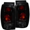 ANZO 1998-2001 Ford Explorer Taillights Dark Smoke