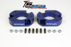 ReadyLift Suspension 04-15 Ford F150/Mark LT 2.0in T6 Billet Aluminum Leveling Kit Anodized - Blue