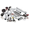 Banks Power 02-04 Chevy 6.6L LB7 SCLB Six-Gun Bundle - SS Single Exhaust w/ Chrome Tip