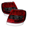 Spyder Audi A4 96-01 LED Tail Lights Red Smoke ALT-YD-AA496-LED-RS