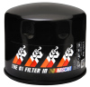 K&N Oil Filter 3.688in OD x 3.406in H for Chevy/Pontiac/Oldsmobile/GMC