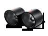 Akrapovic 07-14 MINI Cooper S (R56) / Cooper S Cabrio (R57) Tail Pipe Set (Carbon)