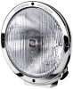 Hella Rallye 4000 Series Chrome Euro Beam 12V Halogen Lamp with Position Lamp