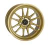 Cosmis Racing XT-206R Gold Wheel 15x8 +30mm 4x100