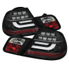 Spyder BMW E46 00-03 2Dr Coupe Light Bar LED Tail Lights Blk ALT-YD-BE4600-LBLED-BK