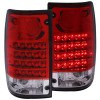 ANZO 1989-1995 Toyota Pickup LED Taillights Red/Clear