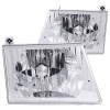 ANZO 1992-2006 Ford Econoline Crystal Headlights Chrome