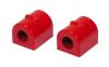 Prothane 04-05 Mazda 3 Front Sway Bar Bushings - 21mm - Red