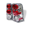 Spyder Cadillac Escalade SUV (Not EXT)02-06 Euro Style Tail Lights Chrome ALT-YD-CE02-C