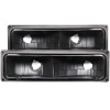 ANZO 1988-1998 Chevrolet C1500 Euro Parking Lights Black