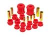 Prothane 00-05 Mitsubishi Eclipse Rear Control Arm Bushings - Red
