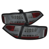 Spyder Audi A4 09-12 4Dr LED Tail Lights Incandescent ModelSmke ALT-YD-AA409-LED-SM
