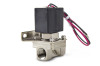 Air Lift 3/8in Nickel Plated 300 PSI Solenoid With Bracket