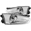 ANZO 1997-2002 Mitsubishi Mirage Crystal Headlights Chrome