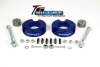 ReadyLift Suspension 05-15 Toyota Tacoma 2.25in T6 Billet Aluminum Leveling Kit Anodized - Blue