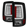 Spyder 09-16 Dodge Ram 1500 Light Bar LED Tail Lights - Black ALT-YD-DRAM09V2-LED-BK