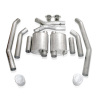 Stainless Works 2004 GTO 3in Catback S-Tube Mufflers X-Pipe 4in Tips