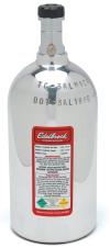 Edelbrock 2 Lb Siphoned Nitrous Bottle (Polished)
