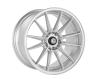 Cosmis Racing R1 Silver Wheel 18x9.5 +35mm 5x114.3