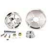 BBK 02-04 Mustang 4.6 GT Underdrive Pulley Kit - Lightweight CNC Billet Aluminum (3pc)