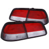 ANZO 1997-1999 Nissan Maxima Taillights Red/Clear 4pc