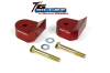 ReadyLift Suspension 05-15 Ford F250/350/450 1.5in T6 Billet Aluminum Leveling Kit Anodized - Red