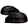 Spyder 99-05 Pontiac Grand Am LED Tail Lights - Black Smoke