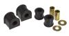 Prothane 07-11 Jeep JK Rear 19mm Sway Bar & End Link Bushings - Black