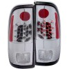 ANZO 1997-2003 Ford F-150 LED Taillights Chrome