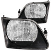 ANZO 1997.5-2003 Ford F-150 Crystal Headlights Black G2