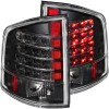 ANZO 1995-2005 Chevrolet S-10 LED Taillights Black