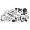 Banks Power 03-04 Dodge 5.9L CCLB(Catted) Six-Gun Bundle - SS Single Exhaust w/ Chrome Tip