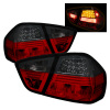 Spyder BMW E90 3-Series 06-08 4Dr LED Tail Lights Red Smoke ALT-YD-BE9006-LED-RS