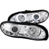 ANZO 1998-2002 Chevrolet Camaro Projector Headlights w/ Halo Chrome