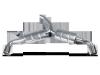 Akrapovic 09-12 Volkswagen Golf GTD (VI) Slip-On Line (SS) (Req. Tips)