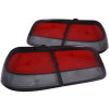 ANZO 1997-1999 Nissan Maxima Taillights Red/Smoke 4pc