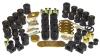 Prothane 07-11 Jeep Wrangler Total Kit - Black