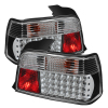 Spyder BMW E36 3-Series 92-98 4Dr LED Tail Lights Black ALT-YD-BE3692-4D-LED-BK