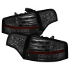 Spyder Audi A4 4Dr 06-08 LED Tail Lights Smoke ALT-YD-AA406-G2-LED-SM
