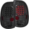 ANZO 1997-2004 Dodge Dakota LED Taillights Smoke